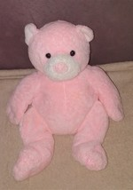 Ty Pluffies PUDDER Pink Bean Bag Bear Plush from 2003 - $17.96