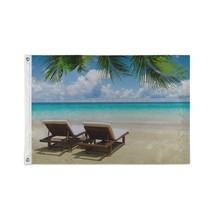 Custom Decor Flags Beach Tropical Sea Decorated Flags - $24.99