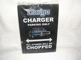 OLD VTG Dodge - Charger Parking Only tin metal sign - $20.00