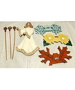 """COLLECTIONS ETC Hanging Angel W/ Changeable Wings For Seasons 11"""" Tall - $9.90"""