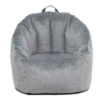 Big Joe Milano Bean Bag Chair Gray Colors Available Comfort For Kids & A... - $53.71
