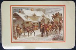 Hallmark Vintage Christmas Cards Postcards 20 New Kings Arms Horse Stable Scene - $9.49