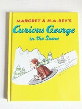 CURIOUS GEORGE IN THE SNOW Hardcover CHILDRENS BOOK Monkey VINTAGE  - $4.74