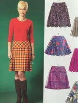 Mccalls Sewing Pattern 7022 Misses Skirts Size 14-22 New - $17.46