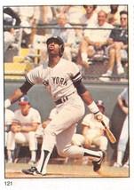 1982 Fleer Stamps #121 Willie Randolph > New York Yankees - $0.99