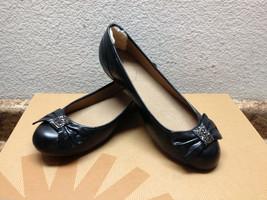 Ugg Rohen Bling Crystal Bow Black Shoe Us 6 / Eu 37 / Uk 4.5 - $71.05