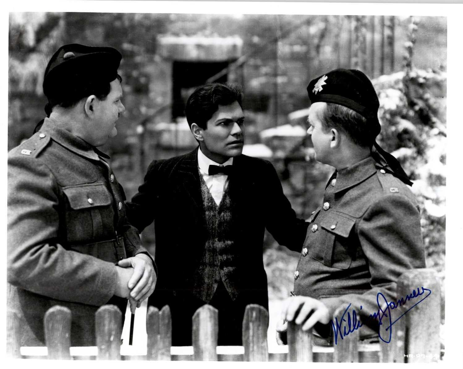 "Primary image for William Janney (d. 1992) Signed Autographed ""Laurel & Hardy"" Glossy 8x10 Photo"