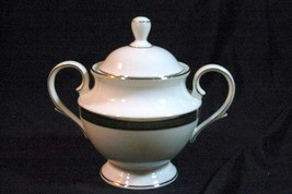 Lenox Braided Elegance Covered Sugar Bowl - $34.64