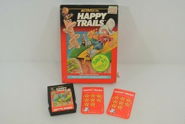 Activision Happy Trails Video Game Cartridge 1983 Includes Box & Overlay Cards - $24.18