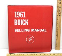 1961 Buick Dealer Album Selling Manual Workbook LeSabre Electra Special ... - $108.45