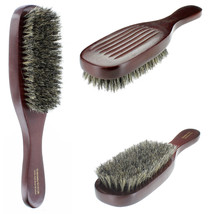 100% Pure Natural Soft Boar Bristle Wave Hair Brush Wood Handle Premium ... - $6.92