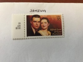 United States Alfred Lunt  mnh 1999 #2    stamps - $0.99