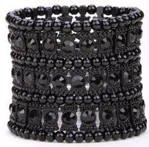 Multilayer stretch cuff bracelet - $25.00
