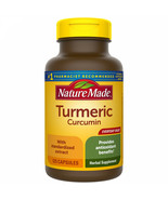 Nature Made Turmeric 500 Mg Capsules, 125 Count For Antioxidant Support - $24.07