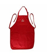 Trendy Apparel Shop Number #1 Mom Embroidered Full Length Apron with Poc... - $19.99