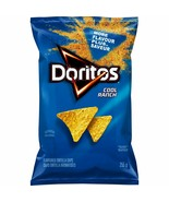 1 Bag Doritos COOL RANCH TORTILLA CHIPS LARGE 255g/ 9oz -FRITO LAY Canad... - $11.57