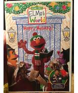 Elmos World  Happy Holidays ( DVD ) - $2.75