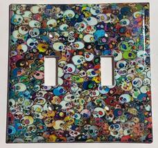 Artist Skulls Light Switch Outlet Power Duplex Wall cover plate home decor image 2