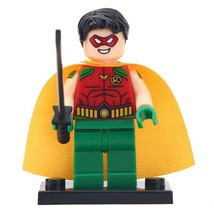 Robin Origins DC Comics Batman Themed Lego Minfigures Block Toy Gift For... - $1.99