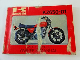 Vintage - 1977 Kawasaki KZ650-D1 Owner's Manual - PRE OWNED - $24.38