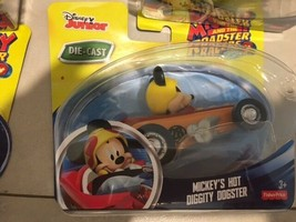 Disney Mickey and the Roadster Racers Mickey's Hot Diggity Dogster Black... - $13.22