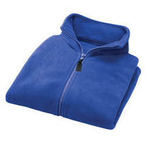 Micro Fleece Vest By Sawyer Creek Studio-X-Large-Dark Blue - $31.23