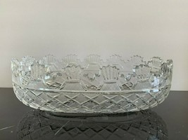 Vintage Waterford Crystal Ireland Master Cutter Kennedy Bowl - $395.01