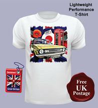 Morris Marina Men's T Shirt, Austin Marina, Union Jack, T Shirt, Target, Poppy, - $19.20