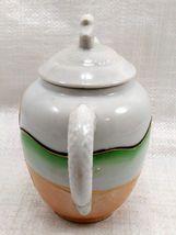 "Dragon Ware Tea Pot ""Mepoco Ware"" Japanese w/ creamer no lid image 4"