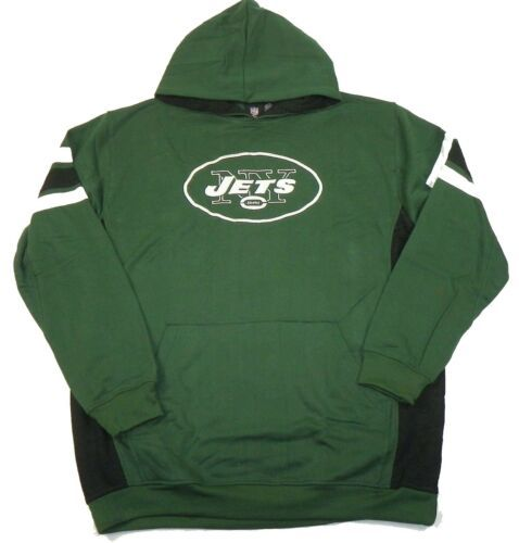 4XL Men's New York Jets Hoodie NFL Passing Game Pullover Hooded Sweatshirt