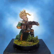 Painted Ral Partha Crucible Miniature Elf Infantry Archer - $37.25