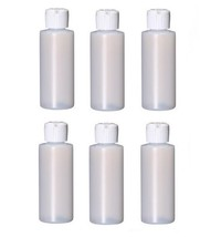 2oz Travel Size Plastic Empty Bottles/Containers With Flip Cap - Set of ... - $8.25