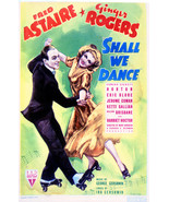 Fred Astaire And Ginger Rogers In Shall We Dance 16x20 Canvas Giclee - $69.99
