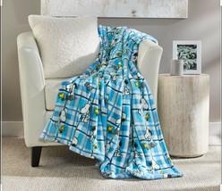 """Berkshire Blanket 55"""" x 70"""" Peanuts Printed Throw - $33.99"""
