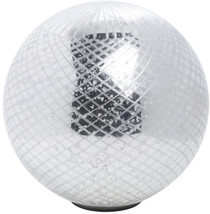 LED Sphere Decorative Silver Glass - 9 3/4' Dia - $88.70
