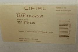 """Cifial 221 870 625 Techno XL Showerhead with Flange/11"""" Arm Polished Chrome - $200.00"""