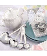 Love Beyond Measure Stainless-Steel Measuring Spoons Baby Shower Favor (... - $36.86
