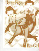 Bettie Page WB Vintage 8X10 Sepia TV Memorabilia Photo  - $4.99