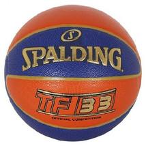 "Spalding TF-33 3x3 FIBA Basketball Official Competition Ball Sz6 / 28.5""... - $74.99"