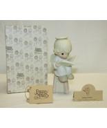 Precious Moments Figurine 104825 ln box Sitting Pretty - $19.79