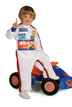 Toddler Boys Lil' Racer Halloween Costume Size 1-2 Years - $20.00