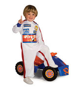 Toddler Boys Lil' Racer Halloween Costume Size 1-2 Years - $19.00