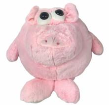 "Ganz 13"" Eyeballs Pig Curly Plush Rare H12909 - $49.49"