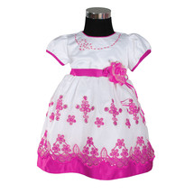 New Girls Floral Party Pageant Dress in Pink,Red,Lilac,Hot pink From 6-2... - $25.27