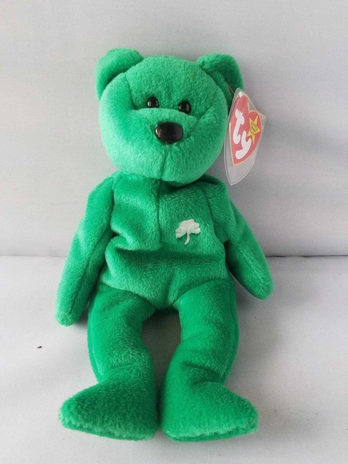 b0449006eb7 ... Ty Beanie Baby Erin St. Patrick s Day Green Irish Bear 5th Generation  ...