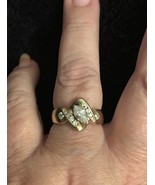Diamond Engagement Wedding Anniversary Cocktail Ring 14kt Yellow Gold Marquise - $2,300.00