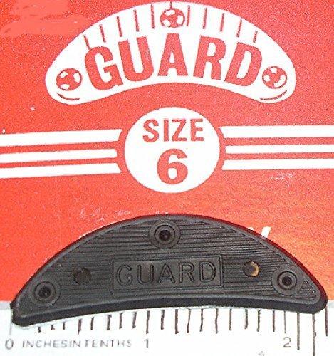 GUARD Quality Heel & Toe Plates Polyurethane (Plastic) Taps Savers 10 Pair Self-