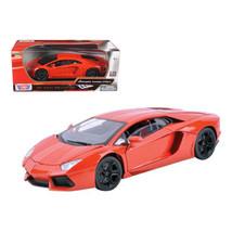 Lamborghini Aventador LP700-4 Orange 1/18 Diecast Model Car by Motormax ... - $50.88