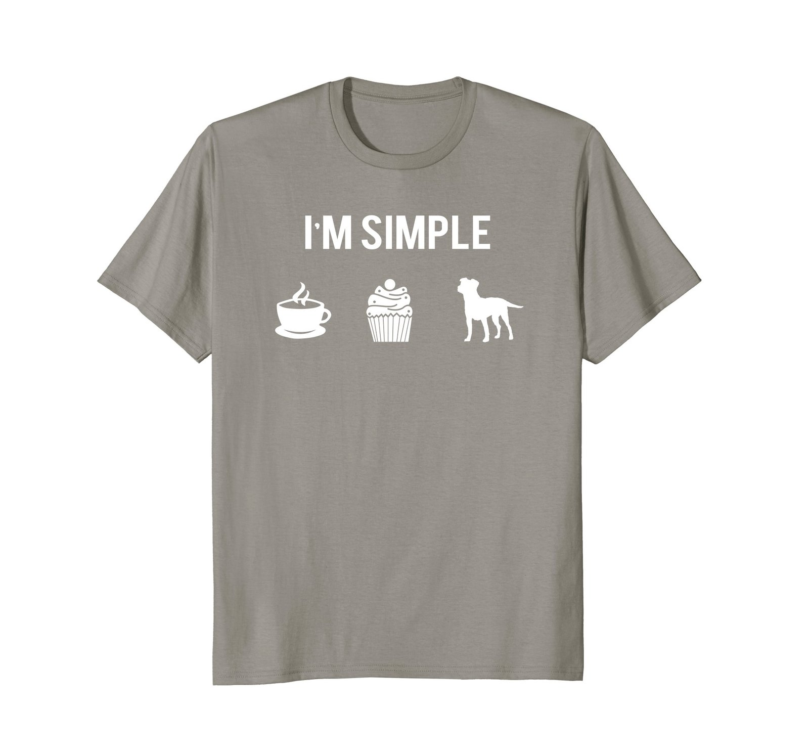 Simple Jack Russell Shirt Love My Coffee My Cupcake My Dog