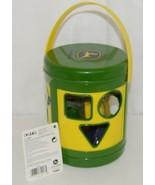 John Deere TBEK34907 Yellow Green Shape Sorter Ages 18 Months - $17.99
